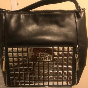 Aiuthentic Leather Micheal Kors shoulder bag